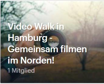Videotechnik und filmen für Hamburger Filmproduktions- und Fotofreunde